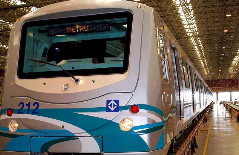 Vagao de Metro SP Foto de Jair Pires
